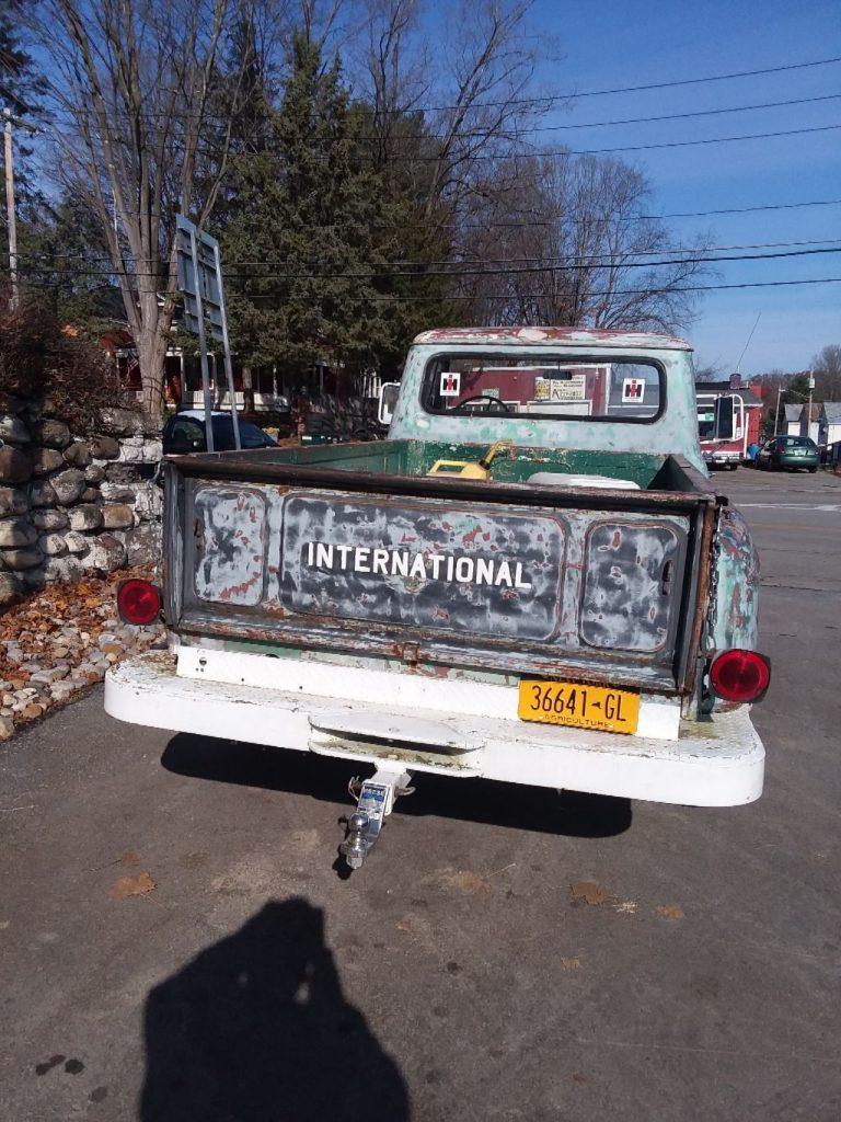 solid 1964 International Harvester pickup