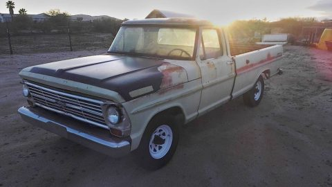 solid 1969 Ford F 100 vintage for sale