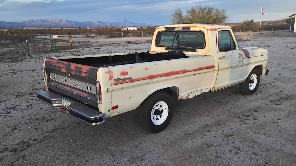 solid 1969 Ford F 100 vintage