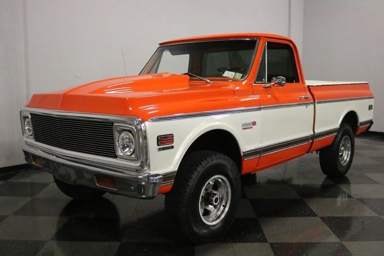 beautiful 1972 Chevrolet Pickups Super Cheyenne vintage