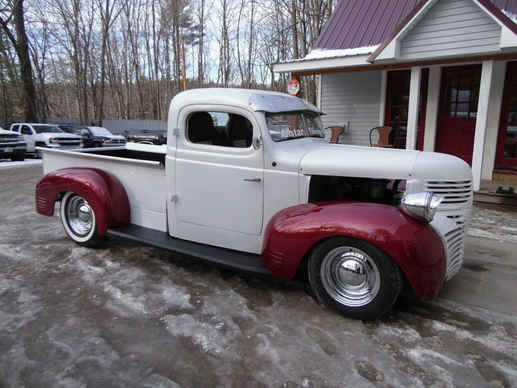 Vintage Trucks For Sale >> Customized 1947 Dodge Pickup Vintage For Sale