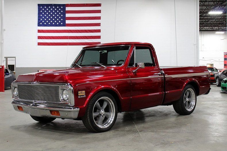customized 1972 Chevrolet C 10 vintage