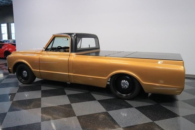 customized 1972 Chevrolet C 10 vintage pickup