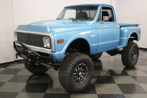 lifted 1971 Chevrolet C 10 4X4 Pickup vintage for sale