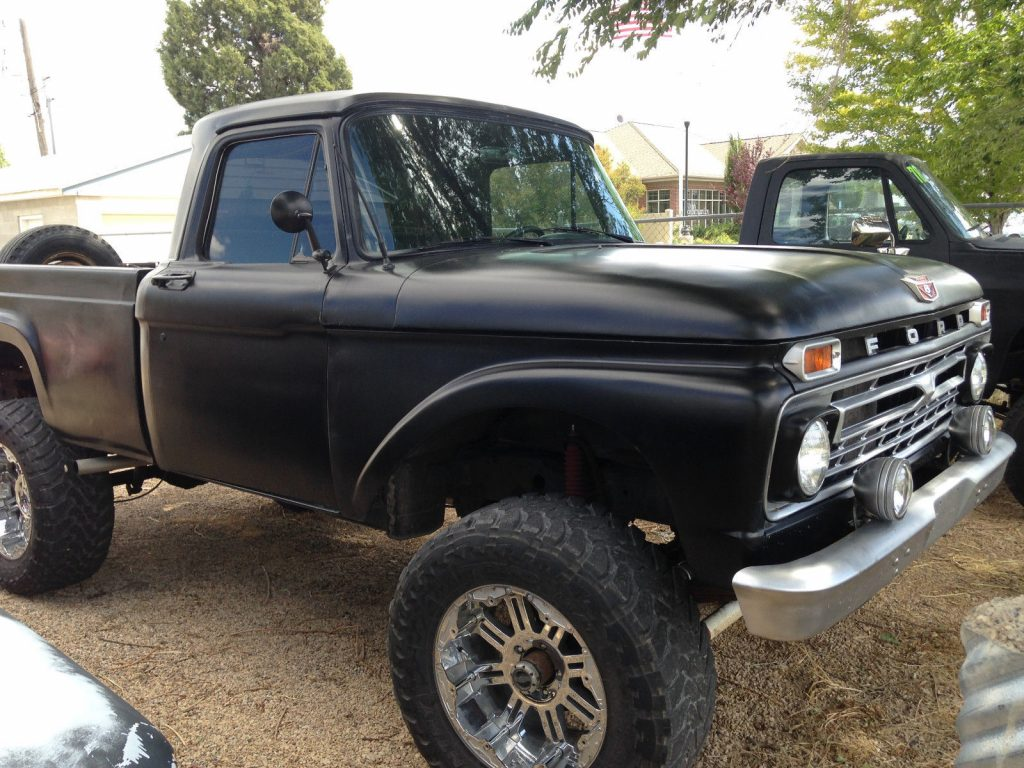low miles 1963 Ford F 100 vintage