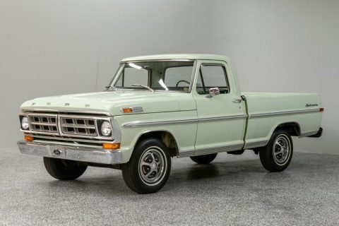 low miles 1971 Ford F 100 pickup vintage for sale