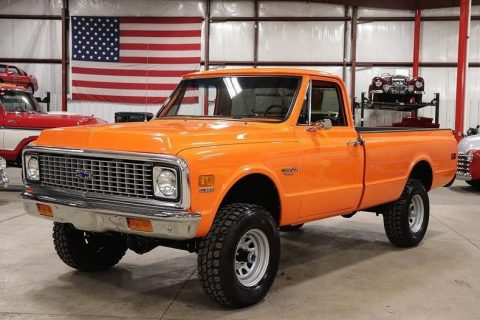 many new parts 1972 Chevrolet K10 Pickup vintage for sale