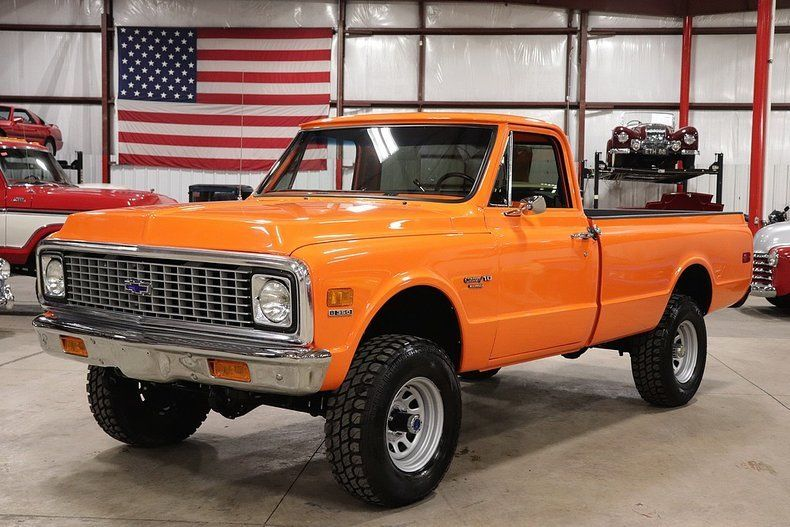 many new parts 1972 Chevrolet K10 Pickup vintage