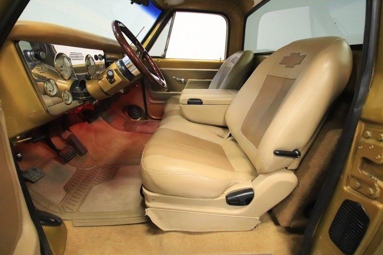 modern upgrades 1972 Chevrolet C 10 vintage
