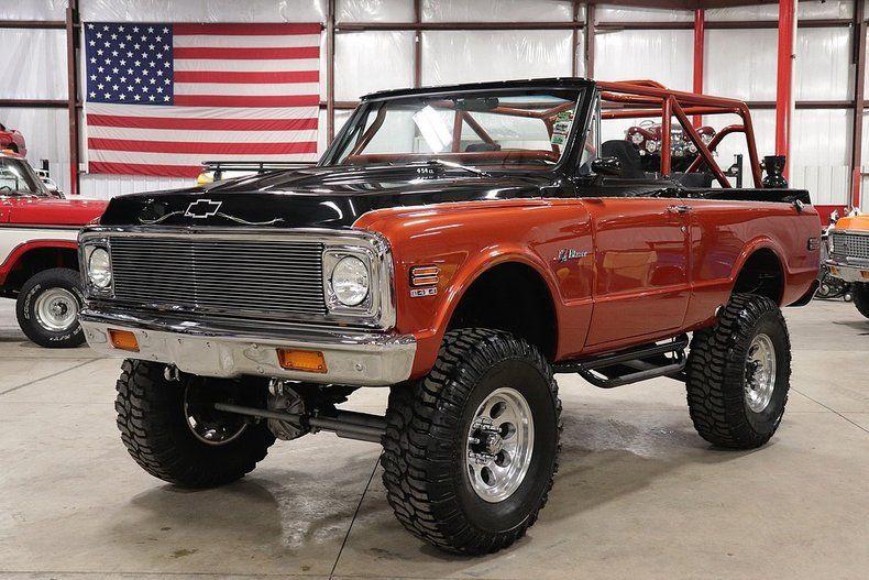 monster 1972 Chevrolet Blazer K5 vintage truck