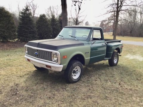 needs work 1972 Chevrolet C10 Shortbed Stepside vintage for sale
