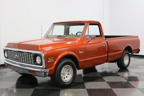 nicely detailed 1971 Chevrolet C 10 vintage for sale