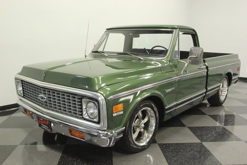 Nicely Restored 1972 Chevrolet C 10 Custom Deluxe vintage