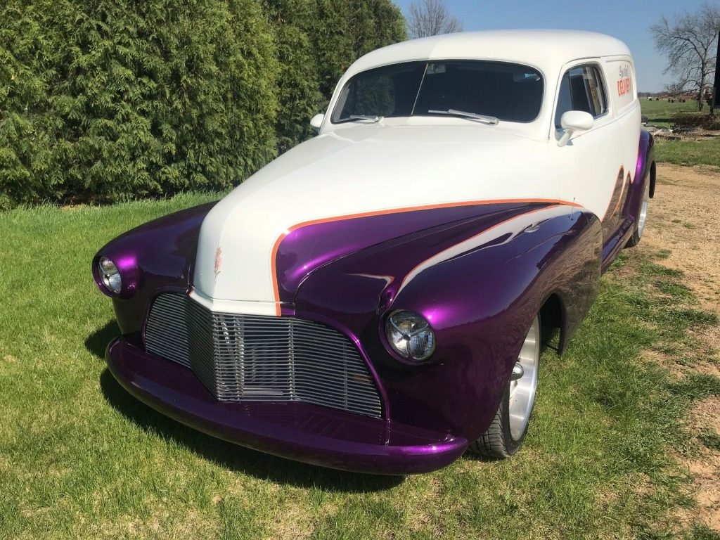 restomod 1947 Chevrolet Sedan Delivery vintage