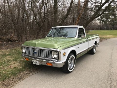 restored 1972 Chevrolet C 10 vintage for sale