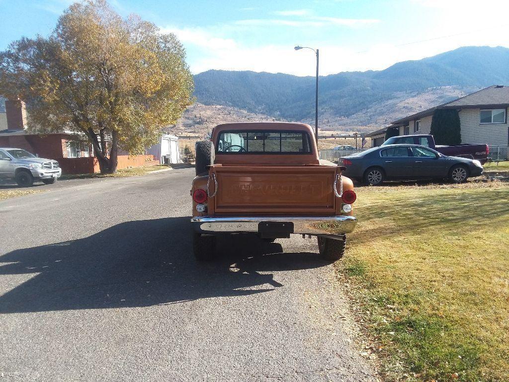 restored 1972 Chevrolet Pickup vintage