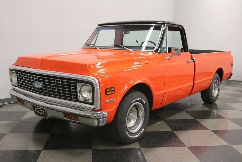 smooth running 1972 Chevrolet C 10 vintage