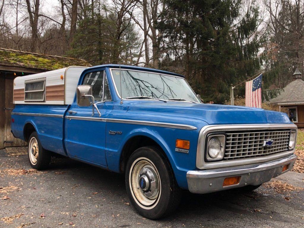 unrestored 1972 Chevrolet C/K Pickup 2500 Highlander vintage