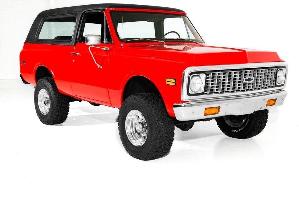 very nice 1972 Chevrolet Blazer K5 vintage truck