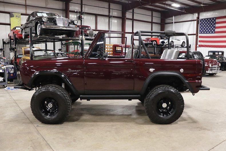 well modified 1971 Ford Bronco vintage