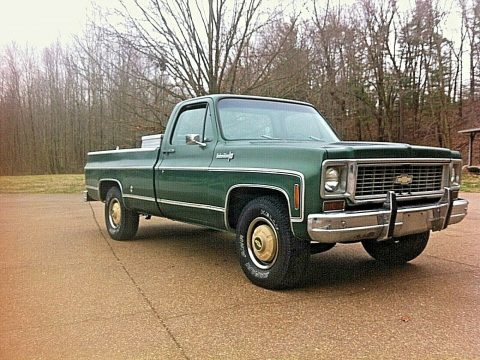 all original 1973 Chevrolet C/K Pickup 2500 Custom deluxe vintage for sale