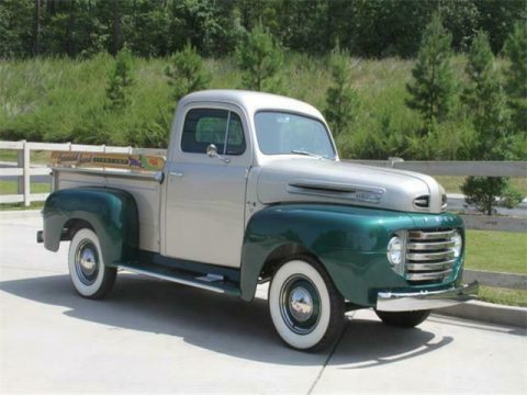 completely restored 1949 Ford F1 Pickup vintage for sale