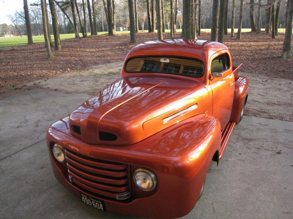 custom hot rod 1948 Ford F 100 pickup vintage