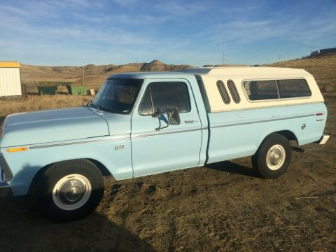 great shape 1973 Ford F 250 custom vintage for sale
