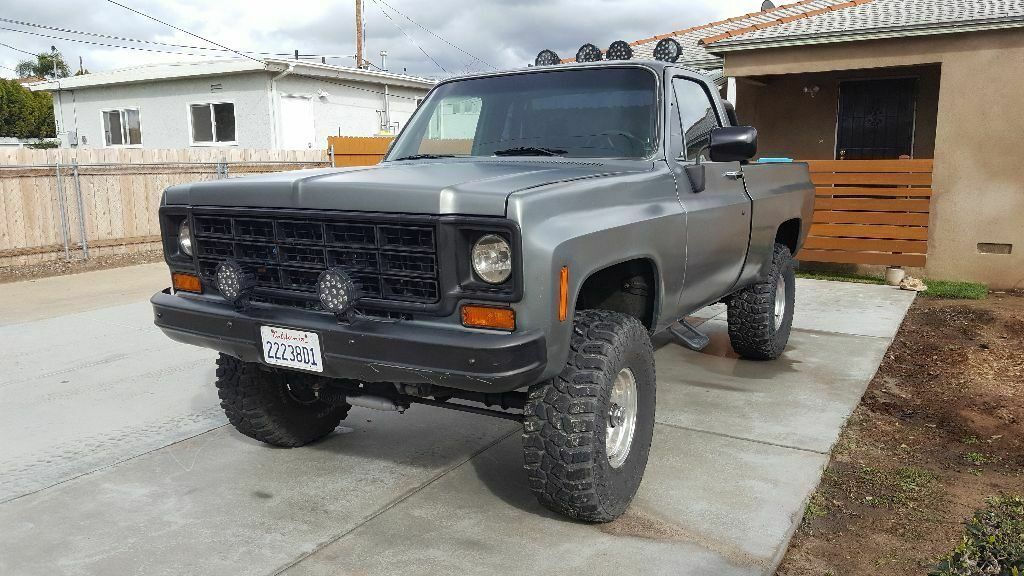 lifted 1974 Chevrolet K 10 Short Bed 1500 pickup vintage