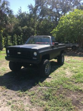 lifted 1975 Chevrolet K5 Blazer pcikup vintage for sale