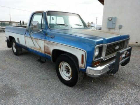 nice patina 1973 Chevrolet C/K Pickup 2500 vintage for sale