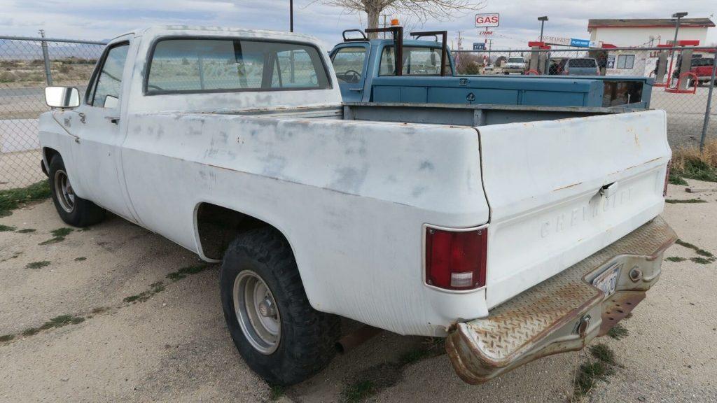 project 1975 Chevrolet C 10 Custom Deluxe vintage