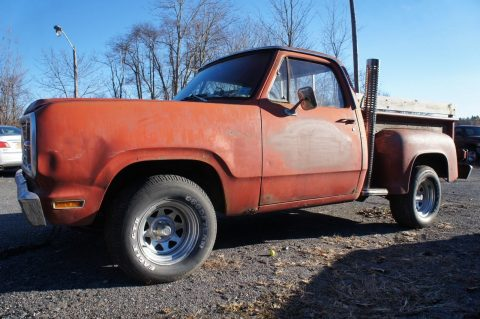 "project 1979 Dodge Pickup ""lil"" Red Express"" vintage for sale"