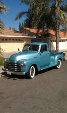 rebuilt engine 1949 Chevrolet Pickup 3100 Series 5 Window vintage for sale