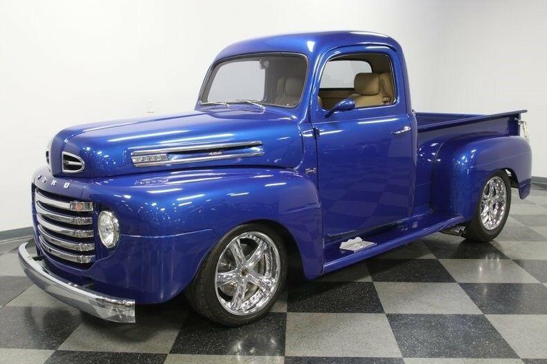 restomod 1949 Ford Pickup vintage