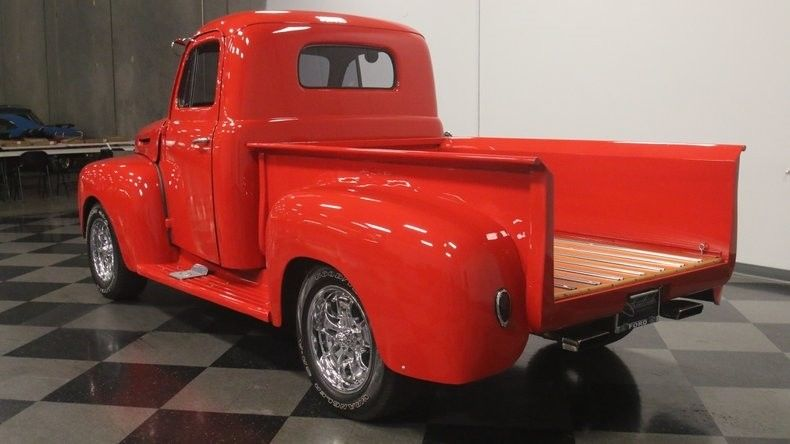 Slick Built custom 1949 Ford Pickup vintage