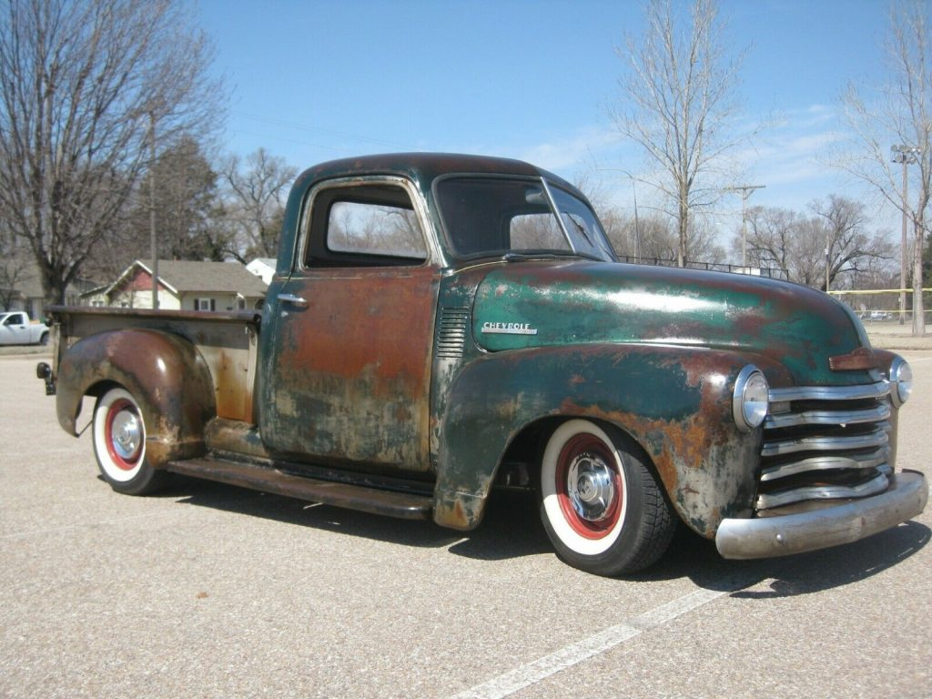 well customized 1949 Chevrolet Pickup vintage
