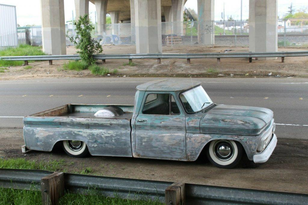 custom 1965 Chevrolet C 10 Calico PATINA pickup vintage