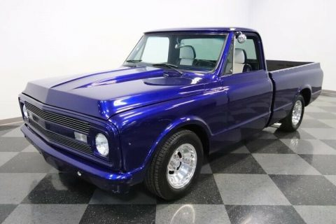 custom Restomod 1972 Chevrolet C 10 vintage pickup for sale