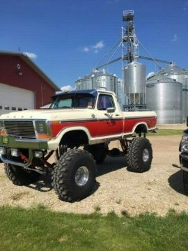 monster custom 1978 Ford F 150 vintage for sale