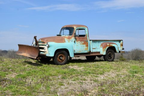 nice patina 1956 International Harvester S120 vintage for sale