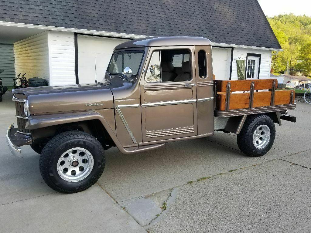 one of a kind custom 1962 Willys pickup vintage