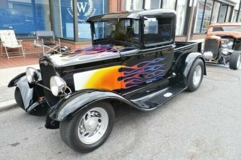 badass truck 1931 Ford Pickup custom vintage for sale