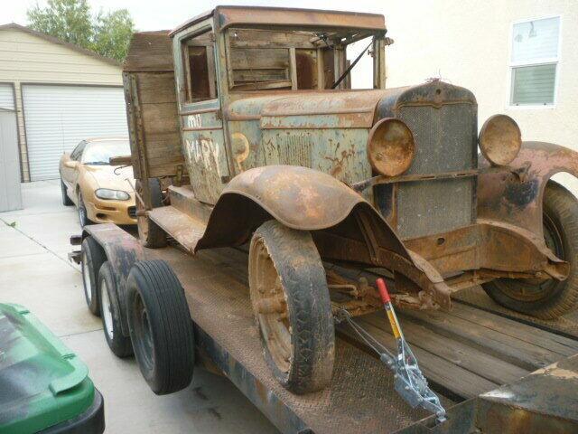 barn find 1930 Chevrolet Pickup vintage