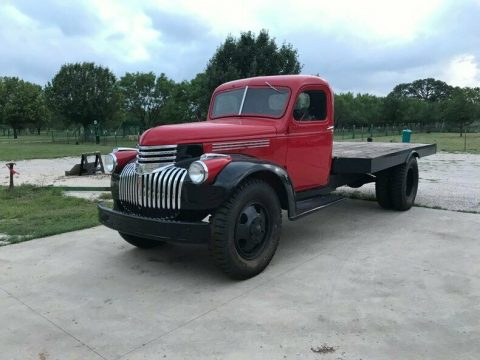 beautiful 1942 Chevrolet Pickup flat bed vintage for sale
