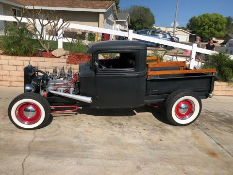 customized 1934 Ford Model A pickup vintage for sale