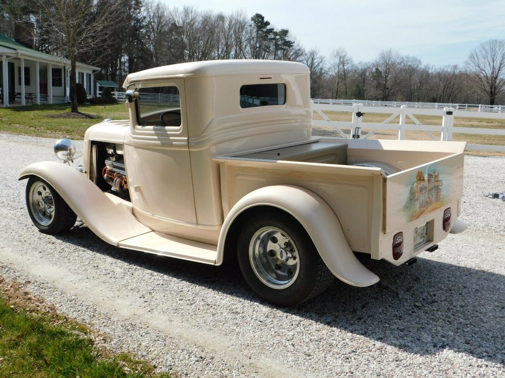 customized 1934 Ford Pickup vintage