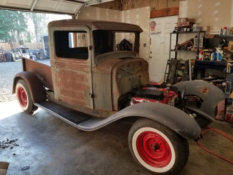 hot rod project 1934 Ford Pickup vintage for sale