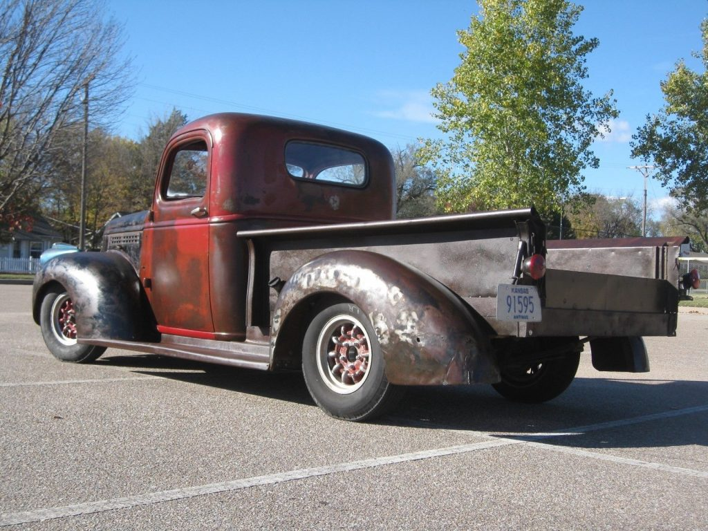 modified 1941 Chevrolet Pickup vintage