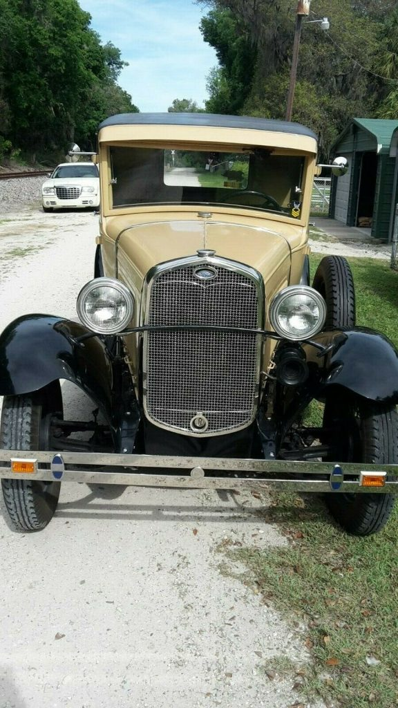 restored 1930 Ford Model A pickup
